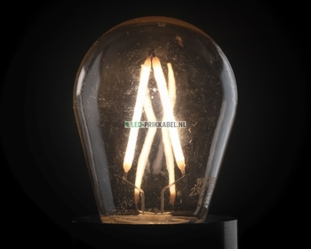 Led filament lamp 3 watt dimbaar