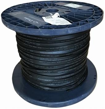 prikkabel 500 meter zwart 2x2,5mm² Draka