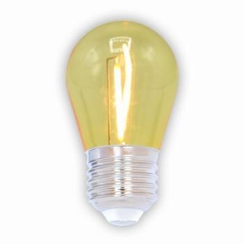 Led filament lamp geel niet dimbaar