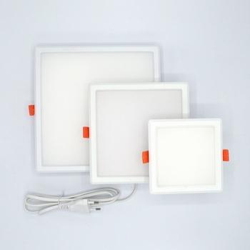 Led downlight vierkant 6 Watt