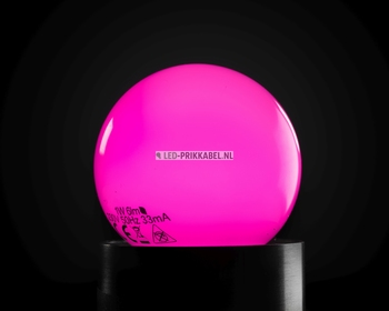 Led gekleurde lampen roze E27