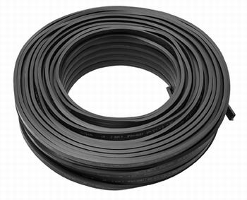 prikkabel zwart H05RNH2-F 100 meter