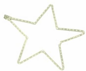 5 punt ster wit warm wit 60-57 cm