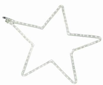 5 punt ster wit koud wit 60-57 cm