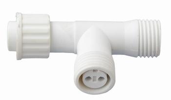 ps230-t-connector 2 stuks wit