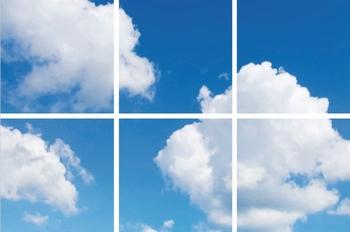 Fotoprint wolk 6