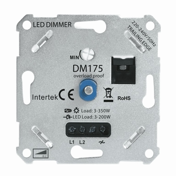LED DIMMER 3-175W UNIVERSEEL