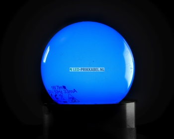 Led gekleurde lampen blauw E27