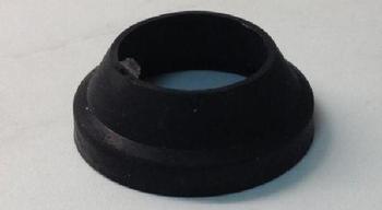 prikkabel afdichtings rubber zwart