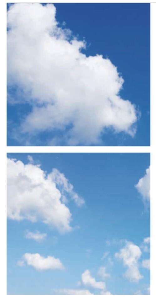 Fotoprint wolk 2