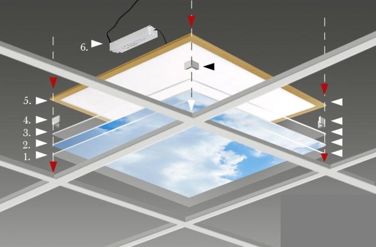 Fotoprint wolk 4