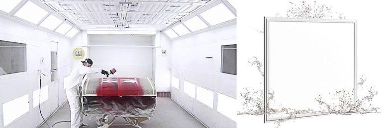 Led paneel IP67 60x60