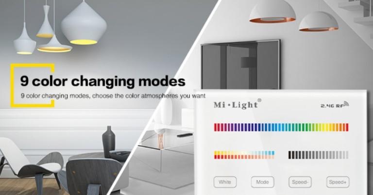 MI-light 4 zone RGB+CCT