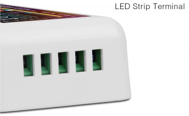 MI-light 4 ZONE RGB+W STRIP CONTROLLER