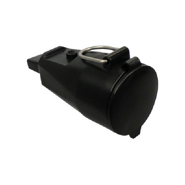 Prikkabel zwart 35 meter70 fittingen