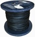 prikkabel zwart H05RNH2-F 500 meter