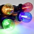 Led pakket 14 (4 kleuren filament lampen)