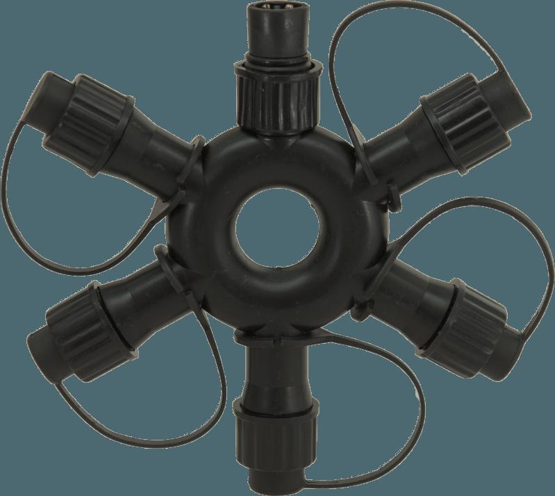 ps230-5-way-ring-connector zwart