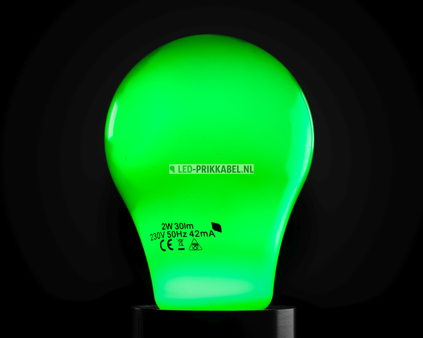 Gekleurde led lampen