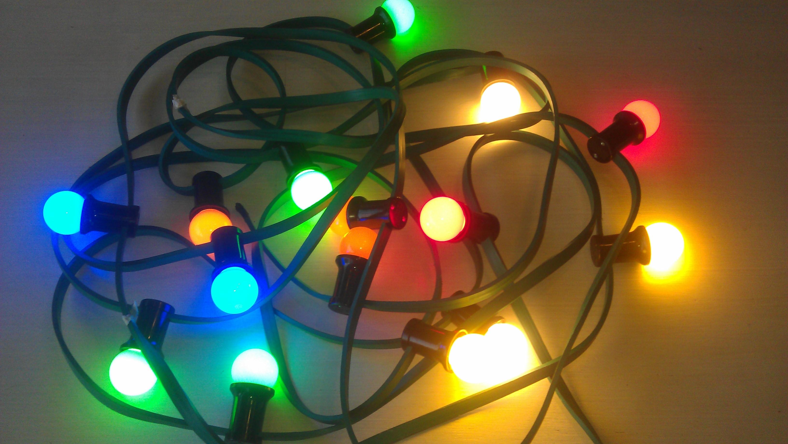 Prikkabels inclusief led lampen